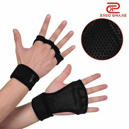 2019 Weight Lifting Gloves Training Gym Grips Fitness Glove