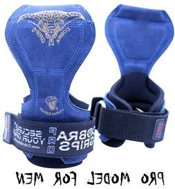 Cobra Grips PRO Series Weight Lifting Straps Wraps Grips Glo