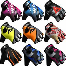 RDX Weight Lifting Gloves Gym Fitness Bodybuilding Workout T