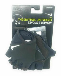 Nike Essential Lightweight Women's Gloves Gray Small Trainin
