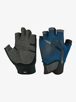 ✅Nike Extreme Light Weight Workout Gloves Black/Blue Gym E