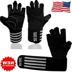Fitness Gloves Men Weight Lifting Training Glove Heavy Gym W