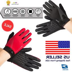 Fitness Gloves Weight Lifting Gym Workout Training Full Fing
