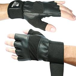 "Nordic Lifting Weight Lifting Gloves With 12"" Wrist Support"