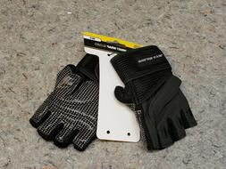 Gold's Gym Classic Wrist Wrap Weightlifting Gloves  Size M/L