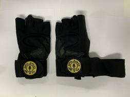 GOLDS Gym Wrist Wrap Weight Lifting Gloves