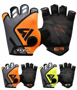 RDX Gym Training Weight Lifting Gloves BodyBuilding WorkOut