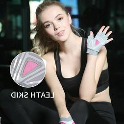 Half Finger Gym Gloves Fitness Hand Protector Women Men Yoga