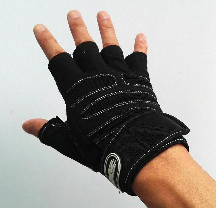 Body Gym Gloves With Belt Crossfit