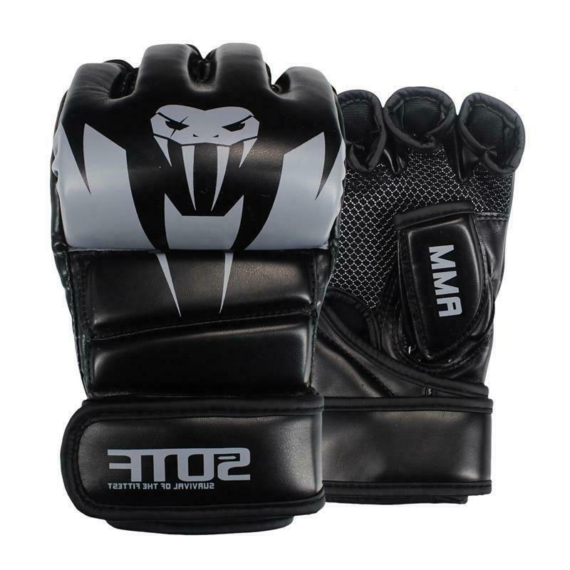 Boxing Gloves MMA Thai Gym Fight Mitts