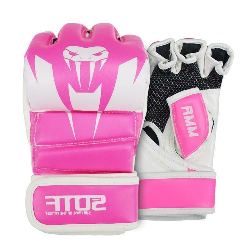 Boxing Gloves MMA Muay Fitness Gym Mitts