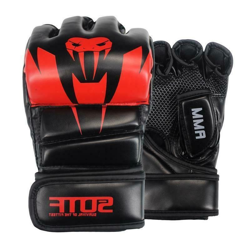 Boxing PU Leather MMA Fitness Gym Training Fight Mitts