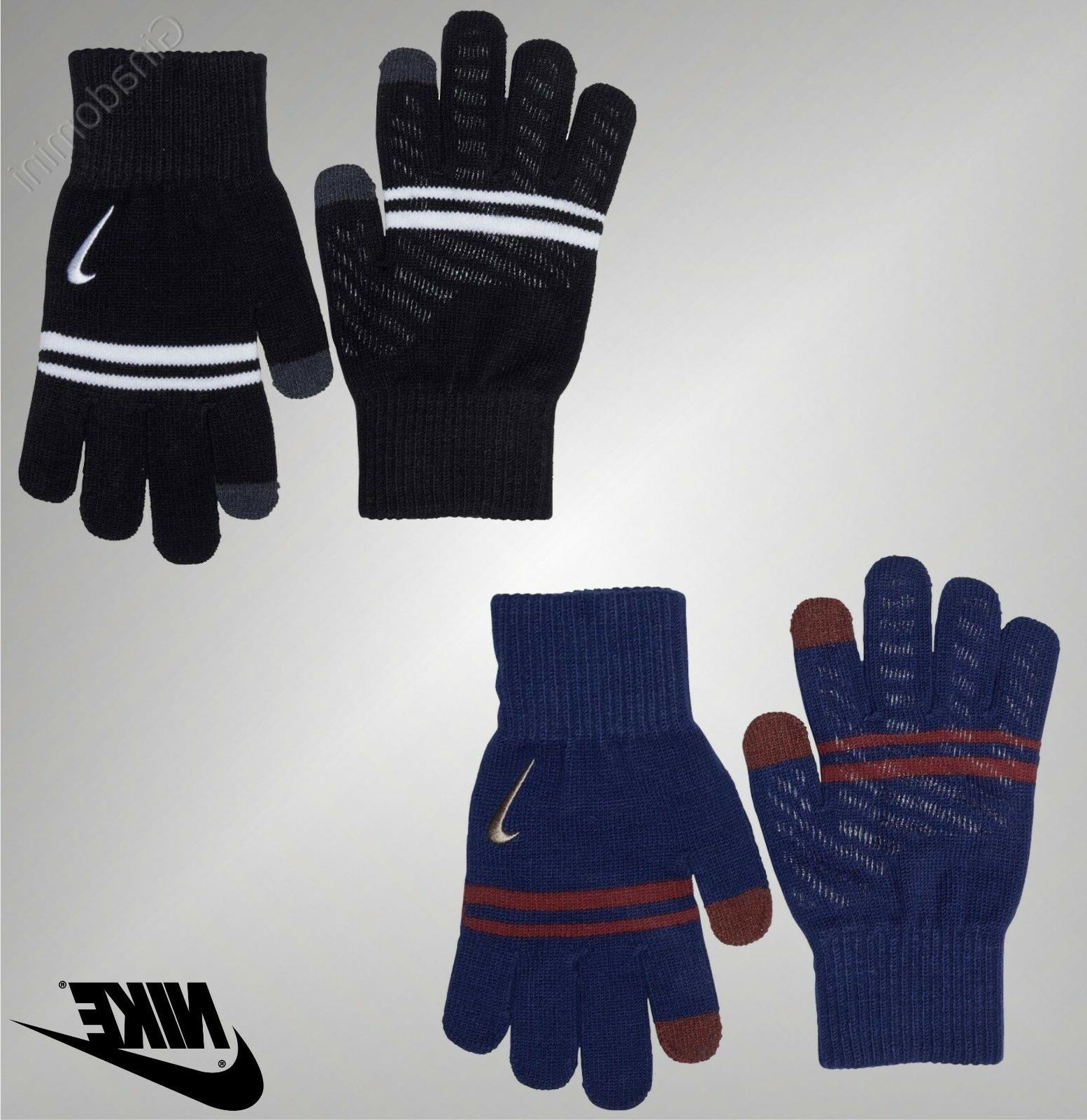 boys gym silicone grip knitted gloves sports