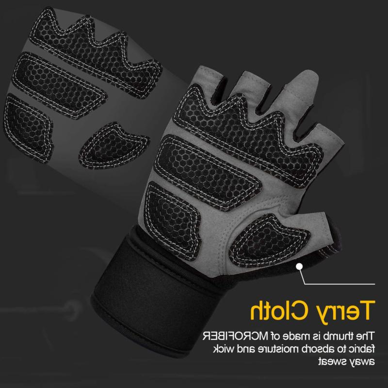 Cevapro Women, Full Protection Weight Lifting Gloves Gym