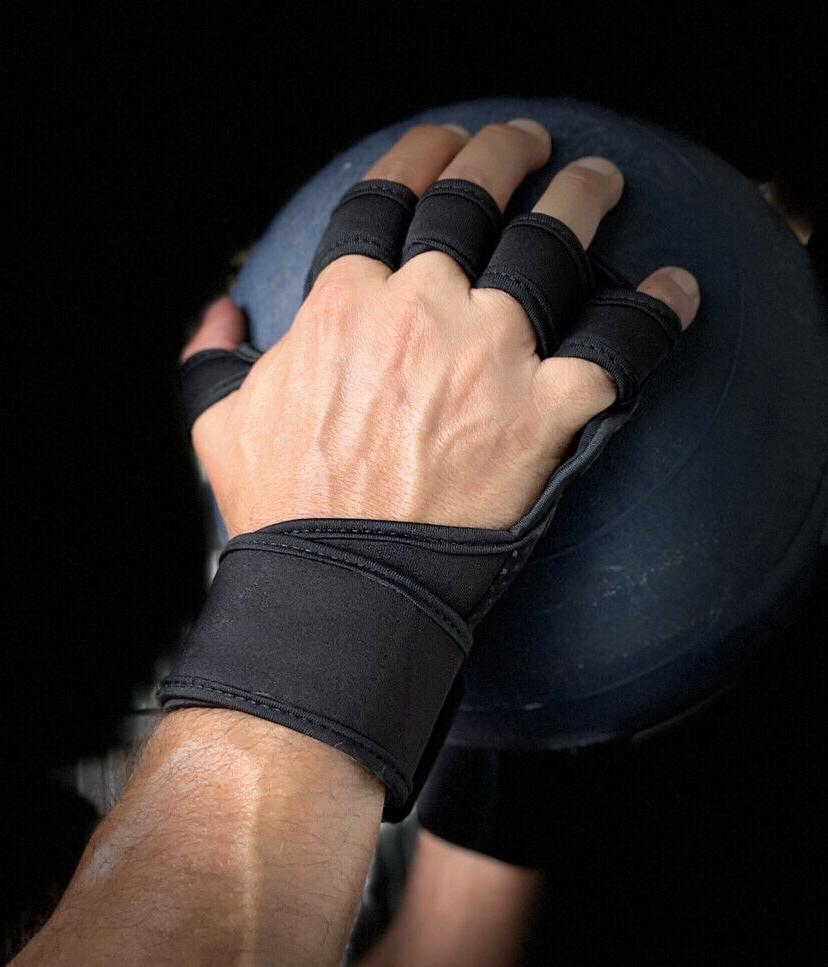 Best New Ventilated Workout Weightlifting Gym Gloves With Wr