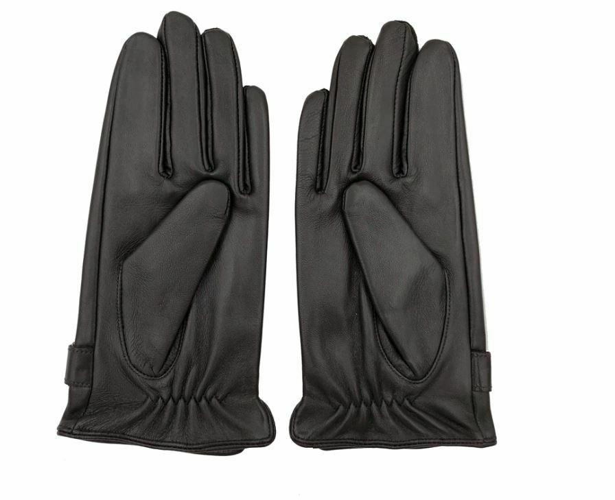 Gloves Thin/Thick Black/Brown Touched Gant