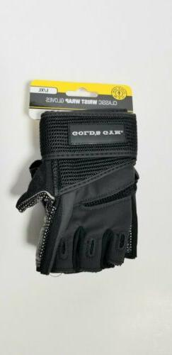 Gold's Gym, Classic Wrist Wrap Gloves,  Weight Lifting Glo
