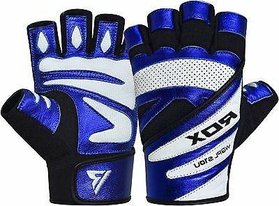 RDX Gym Weight Lifting Gloves Fitness Bodybuilding Training