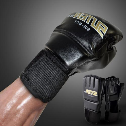 Cool MMA Muay Thai Training Punching Bag Half Mitts Sparring