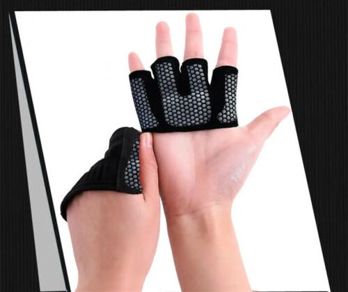 Half Four-Finger Gloves Lifting Non Slip Fitness Protection