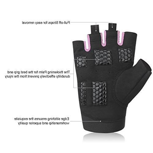 Trideer Lifting Gloves, Breathable Non-Slip, Gym for Boating, Cross Training