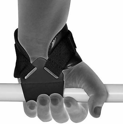 RDX Weight Lifting Hook Straps Hand Bar Gym Wraps