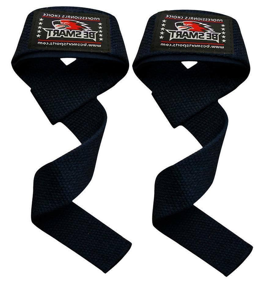 padded weight lifting training gym straps hand