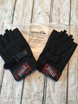 Trideer L Workout Gloves Full Palm Extra Grip Rowing Gym Tra