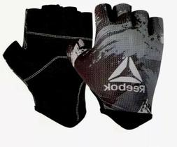 Reebok men Fitness Training Glove Weight Lifting Fingerless