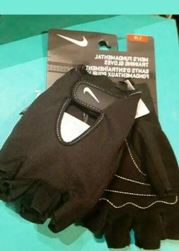 Men's Nike Fundamental Training Gloves Fitness Gym Weight La