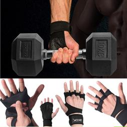 Men / Women Fitness Gloves Weight Lifting Gym Workout Traini
