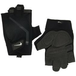 Nike Mens Extreme Fitness Training Gym Mesh Gloves with Padd