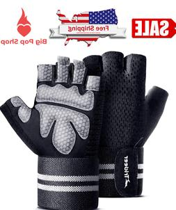 NEW Crossfit Glove For Men Women Workout Gym Lifting Pull Up