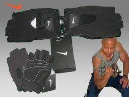New NIKE Mens FUNDAMENTAL GLOVES FitDry Performance Fitness