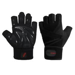 ONYXTACT Weight Lifting Gym Gloves with Wrist Wrap Support f