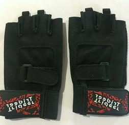 Trideer Padded Weight Lifting Gloves Gym Workout Rowing Exer