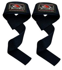 Padded Weight Lifting Training Gym Straps Hand Bar Wrist Sup