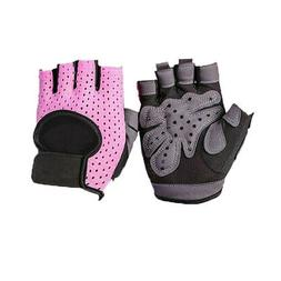 Men Weight Lifting Glove Half Finger Fitness Gloves Protect