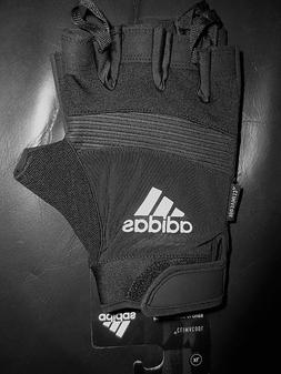 Adidas Performance Half Finger Black Silver Training Workout