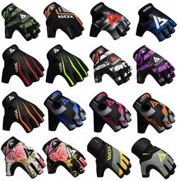 RDX Weight Lifting Gloves Gym Training Workout Bodybuilding