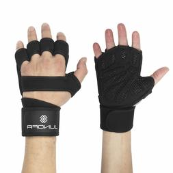 Junofa Pro Weight Lifting Gloves Fitness Glove Gym Training