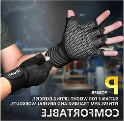 Professional Ventilated Weight Lifting Gym Workout Gloves Wr