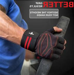 LTrevFit Sports Gloves For Workout Gym Cross Strength Traini