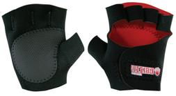 Grizzly Fitness Sticky Paws Neoprene Training Gloves - Gym,
