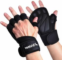 Trideer Ventilated Weight Lifting Gloves, Gym Gloves, Workou