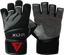 RDX Weight Lifting Body Building Gym Training Fitness Gloves