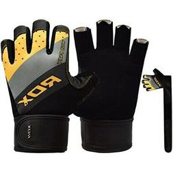 RDX Weight Lifting Gloves for Gym Workout - Breathable, Long