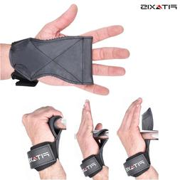 Weight Lifting Gloves Grips Pads Gym Training Straps Wrist W