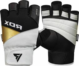 RDX Weight Lifting Gloves Gym Fitness Workout Powerlifting B