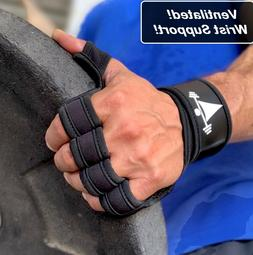 LTrevFit Weight Lifting Gloves WOD Workout Gym Cross Trainin
